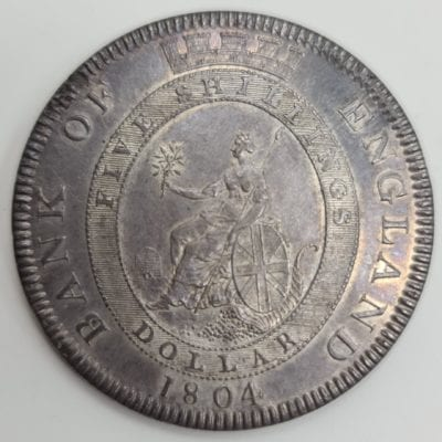 George III Bank of England Dollar