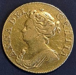 Queen Anne 1710 Guinea