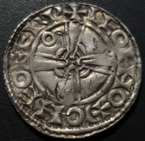 Edward Confessor Expanding Cross, Heavy Coinage York