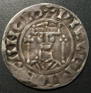 William I (1066-1087), Silver Penny, two sceptres type, Winchester Mint