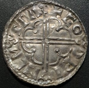 Cnut (1016-1035), silver Penny</strong>, quatrefoil type, Stamford Mint