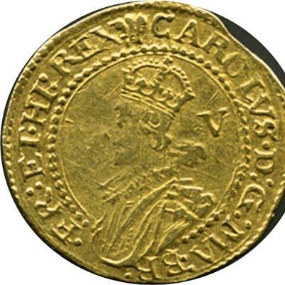 Charles I (1625-1649), Gold Crown, Group B/C Mule
