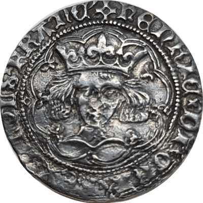 Henry VI. First Reign, 1422-1461. Rosette-mascle issue, 1427-30. Calais mint.