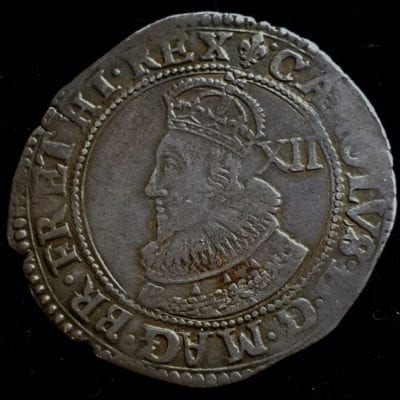 Charles Ist Shilling Group A Type 1