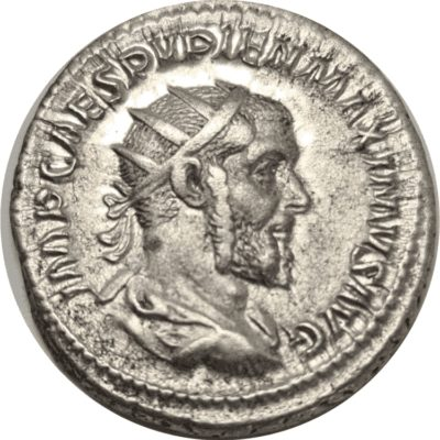 Pupienus Rome Silver Antoninianus
