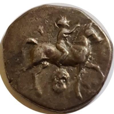 Calabria Tarentum Silver Nomos