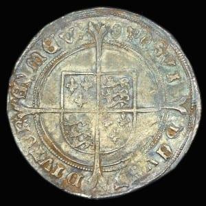 Edward VI Shilling Obverse