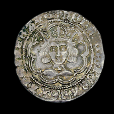 Henry VI Groat, cross-pellet issue,