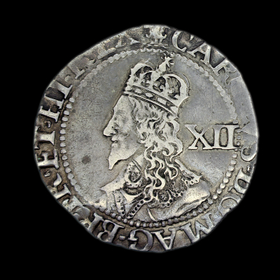 Charles Ist Oxford Declaration Shilling, 1644