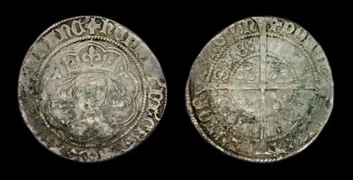 Henry VI Groat, Annulet Issue, 1422-1430