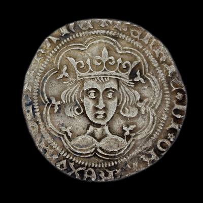 Henry VI First Reign Groat Rosette-mascle Issue