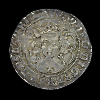 Edward IV, first reign Silver Groat, London, Light Coinage
