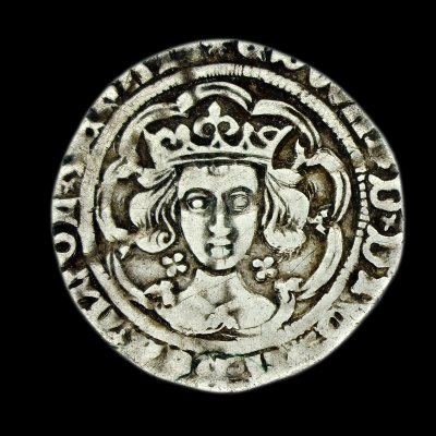 Edward IV Light Coinage Groat Lis in legend
