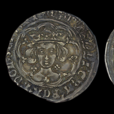 Edward IV, first reign, light coinage Groat Lis after TAS
