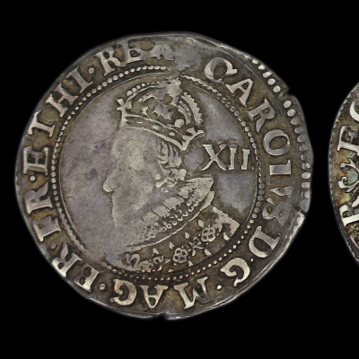Charles Ist Tower Mint Shilling Group A