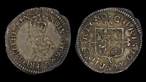 Charles II Half Groat (Twopence)