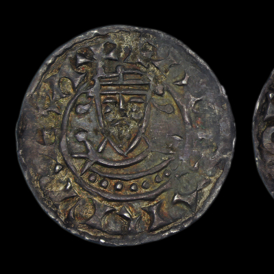 Edward the confessor, facing Bust Penny