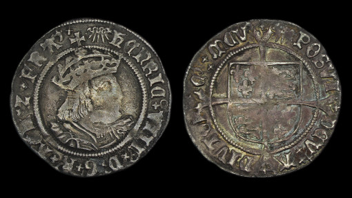 Henry VIII Groat Rare Sunbust