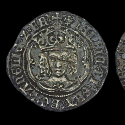 Henry VII Facing Portrait Groat