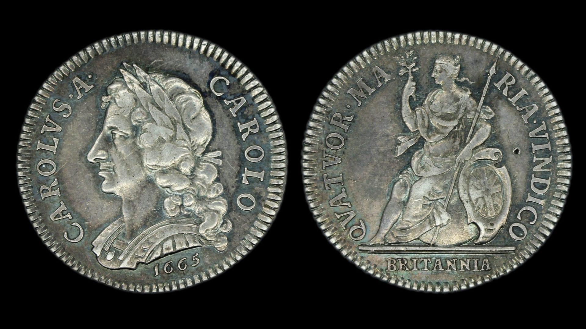 Charles II Pattern Farthing 1665