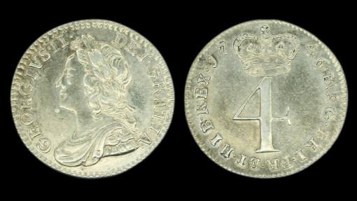 George II Fourpence 1746