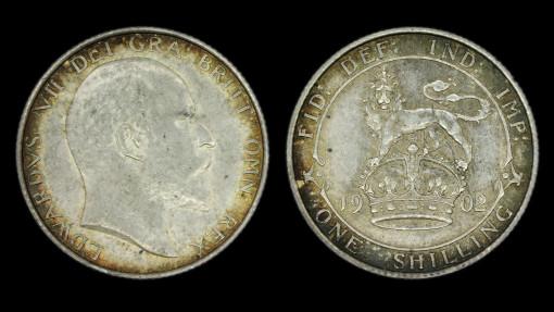 Edward VII 1902 Shilling
