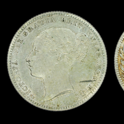 Victoria Young Head Shilling 1886