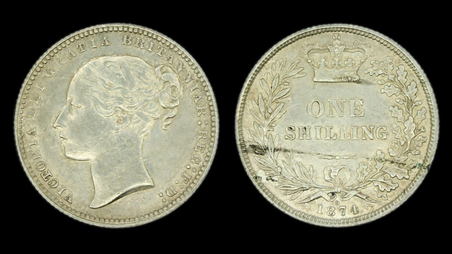 Victoria Shilling 1874
