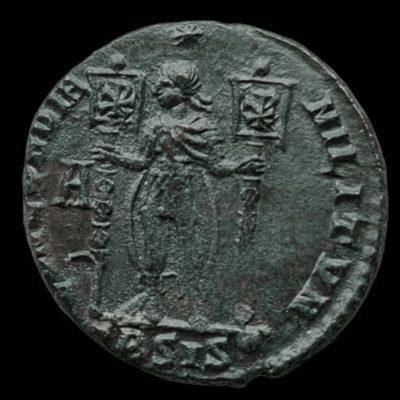 Vetranio 350 AD Concordia Militvm Siscia