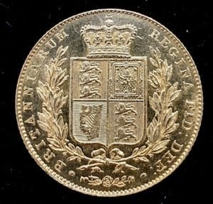 Victoria 1838 Sovereign