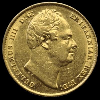 William IV (1830-37), gold Sovereign, 1837,