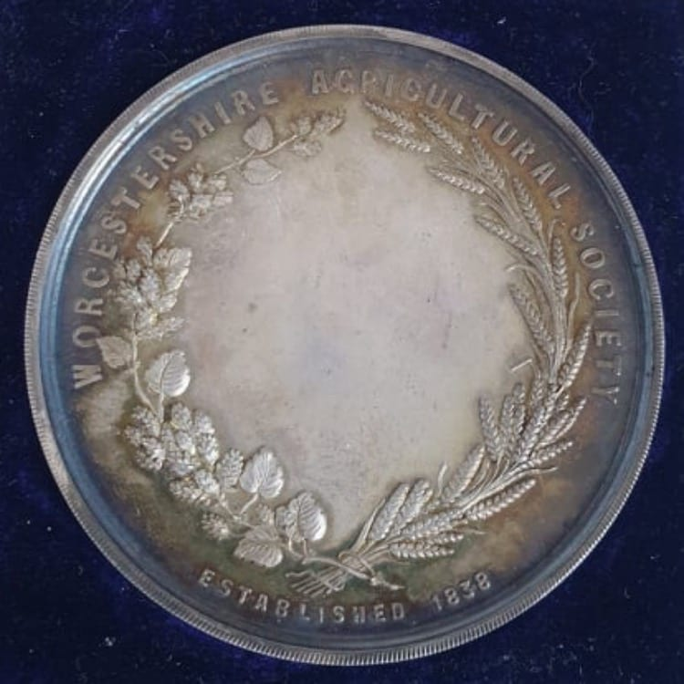 Worcestershire Agricultural Society Medal