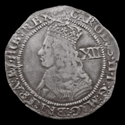 Charles II silver Hammered Shilling Third hammered issue (1661-62)