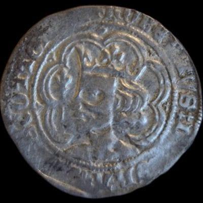 Scotland, Robert II (1371-90) Silver Groat, Edinburgh Mint
