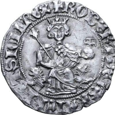 Roberto I d'Angiò AR Gigliato, Circa 1309-1317.