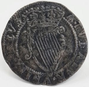 Ireland, James I (1603-25), silver Sixpence, first coinage (1603-04), first crowned bust