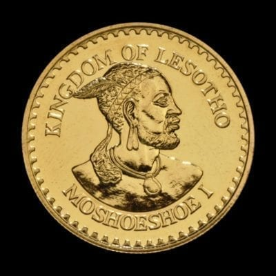 1979 Lesotho 1oz 250 Maloti