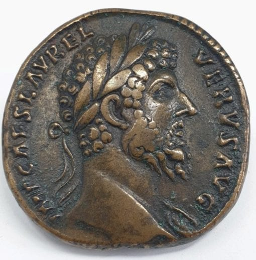 The Roman Empire, Lucius Verus, 161 - 169, Sestertius 161-162, brass