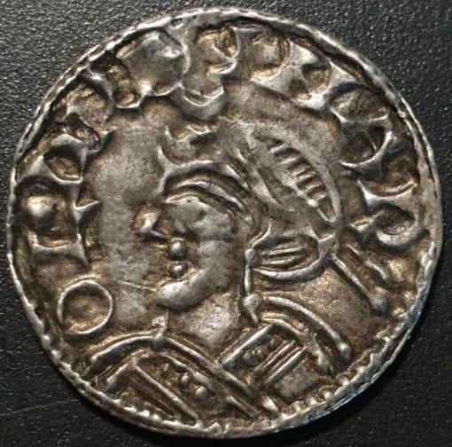 Harold I (1035-40), silver Penny, jewel cross type (c.1036-38)