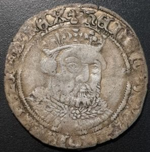 Henry VIII Posthumous Groat Bristol