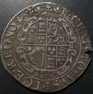 Charles I (1625-49), silver Shilling, York Mint (1643-44), type 5