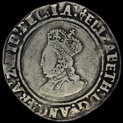 Elizabeth I Shilling First Issue