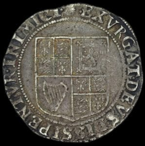 James I Shilling first coinage