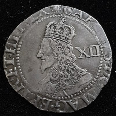 Charles Ist Declaration Oxford Shilling
