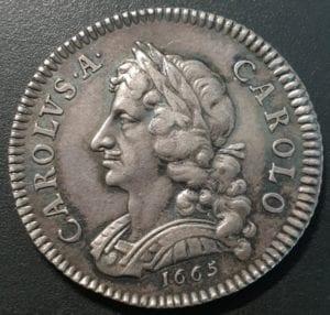Charles II (1660-85), Pattern Silver Farthing struck by John Roettier, 1665