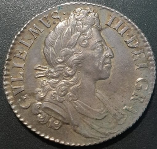 William III (1694-1702), Shilling, 1700, small 0s in date, fifth laureate and draped bust right