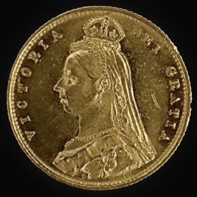 1887 Victoria Half Sovereign