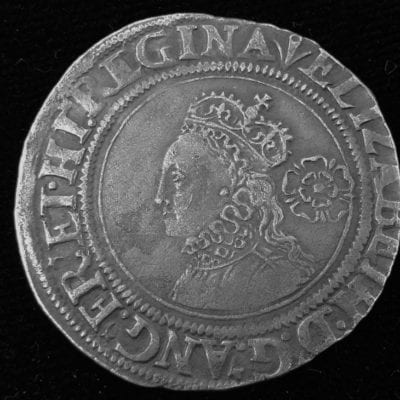 Elizabeth I Sixpence 1561 3rd Issue