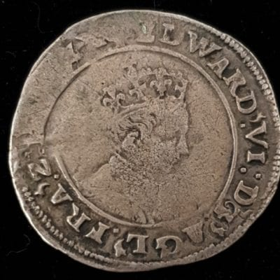 Edward VI Shilling Second Coinage